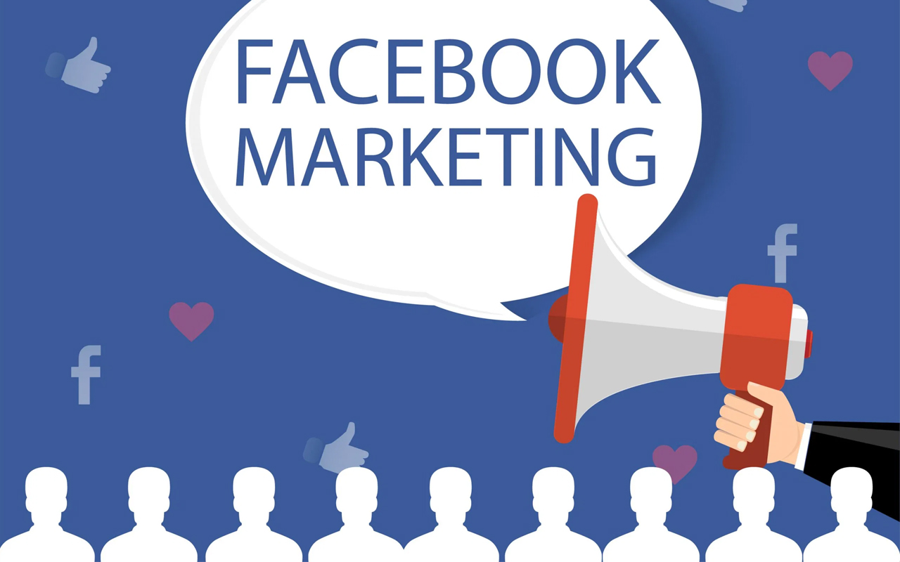 marketing online trên Facebook