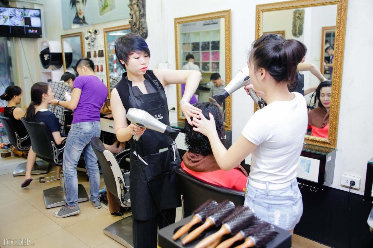 xây dựng thương hiệu salon tóc